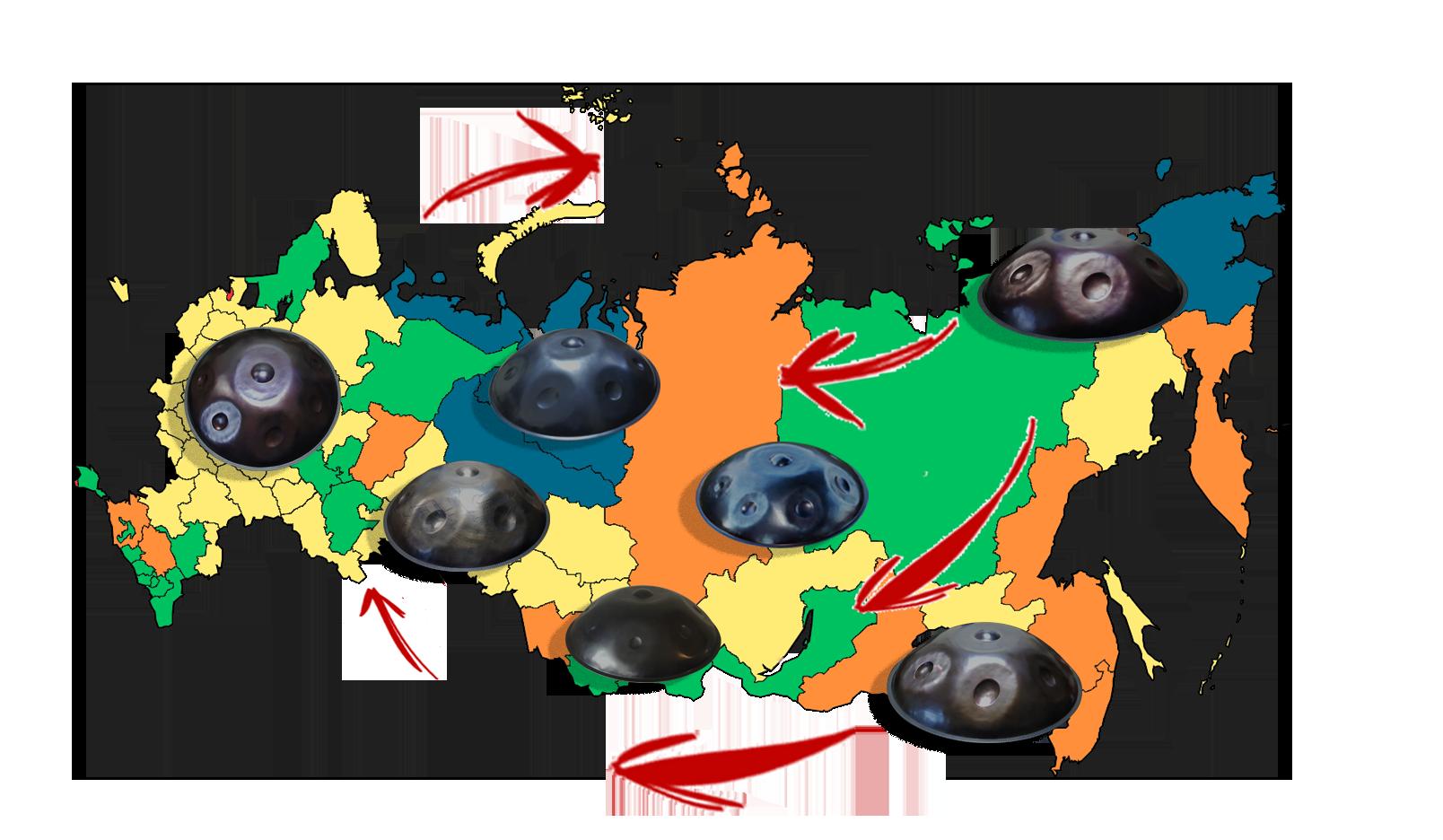 Ханги всей россии